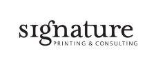 signature printing consulting